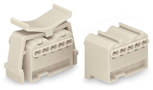 Verbindungsklemme starr: 1.5-2.5 mm² Polzahl: 5 WAGO 100 St. Weiß