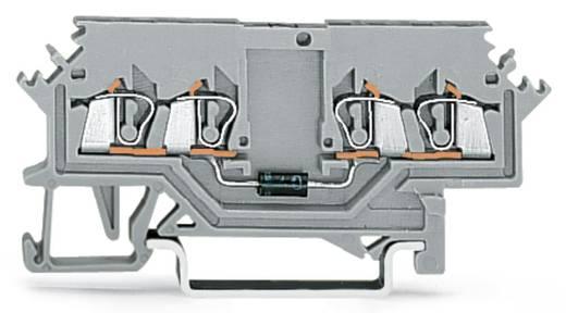 Diodenklemme 4 mm Zugfeder Belegung: L Grau WAGO 279-623/281-411 100 St.