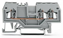 Bloc de jonction traversant WAGO 279-682 4 mm ressort de traction orange 100 pc(s)
