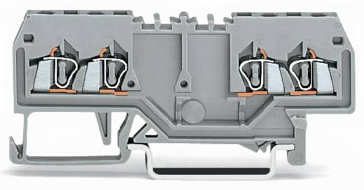 Durchgangsklemme 4 mm Zugfeder Belegung: L Grau WAGO 279-826 100 St.
