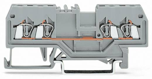 Durchgangsklemme 4 mm Zugfeder Belegung: L Grau WAGO 279-831 100 St.