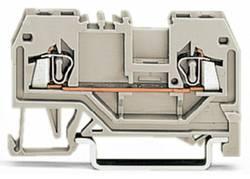 Bloc de jonction traversant WAGO 279-992 4 mm ressort de traction Affectation des prises: L gris 100 pc(s)