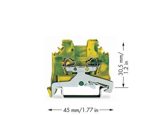 Schutzleiterklemme 5 mm Zugfeder Belegung: PE Grün-Gelb WAGO 280-107 100 St.