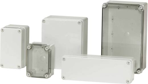 Installations-Gehäuse 140 x 80 x 85 Polycarbonat Licht-Grau (RAL 7035) Fibox PICCOLO PC C 85 G 1 St.