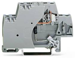 Borne d'extrémité WAGO 280-502/281-591 10 mm ressort de traction Affectation des prises: L gris 50 pc(s)