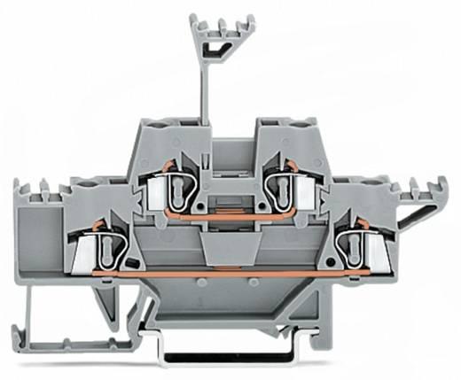 Doppelstock-Durchgangsklemme 5 mm Zugfeder Belegung: L Grau WAGO 280-513 50 St.