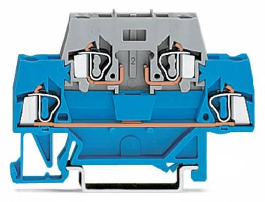 Doppelstock-Durchgangsklemme 5 mm Zugfeder Belegung: L Grau WAGO 280-514 50 St.
