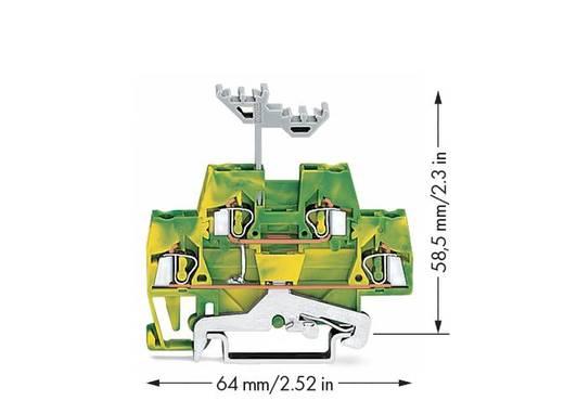 Doppelstock-Schutzleiterklemme 5 mm Zugfeder Belegung: PE Grün-Gelb WAGO 280-517 50 St.