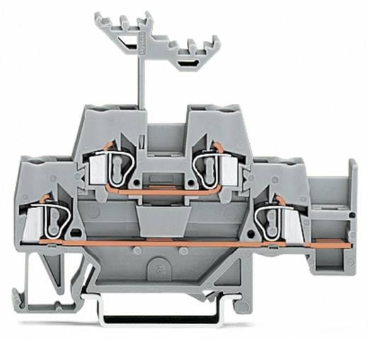 Doppelstock-Durchgangsklemme 5 mm Zugfeder Belegung: L Grau WAGO 280-520 50 St.