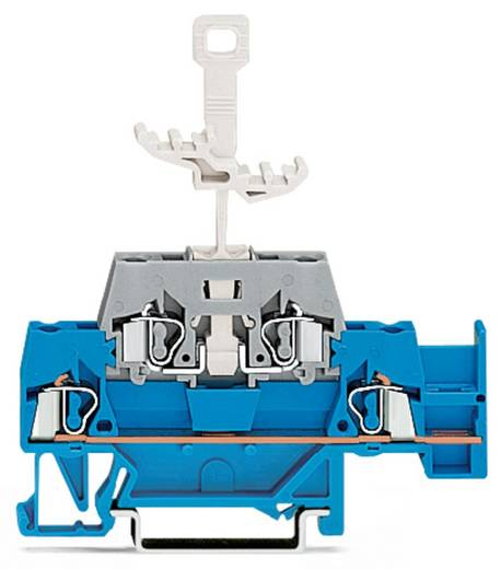 Doppelstock-Durchgangsklemme 5 mm Zugfeder Blau, Grau WAGO 280-526 50 St.
