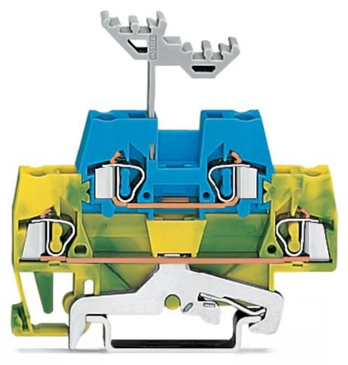 Doppelstock-Durchgangsklemme 5 mm Zugfeder Grün-Gelb, Blau WAGO 280-537 50 St.