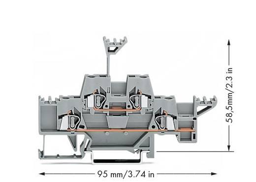 Doppelstock-Durchgangsklemme 5 mm Zugfeder Belegung: L Grau WAGO 280-543 50 St.