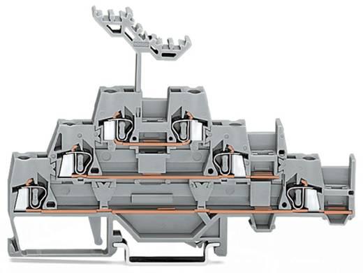 Dreistock-Durchgangsklemme 5 mm Zugfeder Belegung: L Grau WAGO 280-550 40 St.