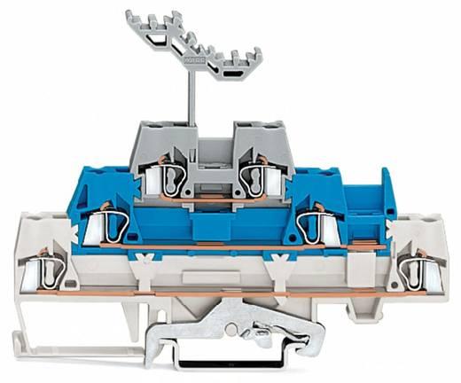 Dreistock-Durchgangsklemme 5 mm Zugfeder Weiß, Blau, Grau WAGO 280-558 40 St.