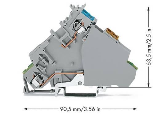 Initiatorenklemme 6 mm Zugfeder Belegung: L Grau WAGO 280-577 20 St.