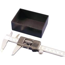 Odlievané puzdro Hammond Electronics 1596B107-10 1596B107-10, 40 x 40 x 20 , ABS, čierna, 10 ks