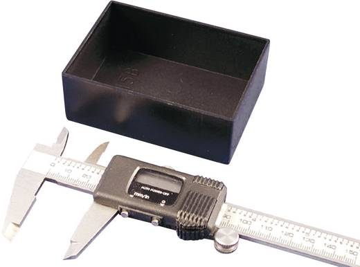 Verguss-Gehäuse 12 x 12 x 9 ABS Schwarz Hammond Electronics 1596B109-10 10 St.