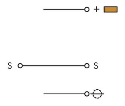 Aktorenklemme 5 mm Zugfeder Belegung: L Grau WAGO 280-585 50 St.