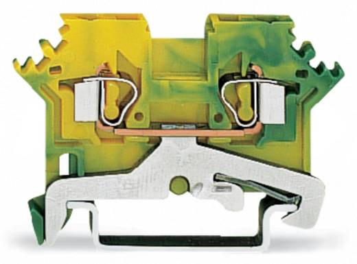 Schutzleiterklemme 5 mm Zugfeder Belegung: PE Grün-Gelb WAGO 280-607 100 St.