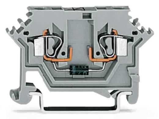 Diodenklemme 5 mm Zugfeder Belegung: L Grau WAGO 280-613/281-411 100 St.