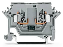 Borne à diode WAGO 280-613/281-411 5 mm ressort de traction Affectation des prises: L gris 100 pc(s)