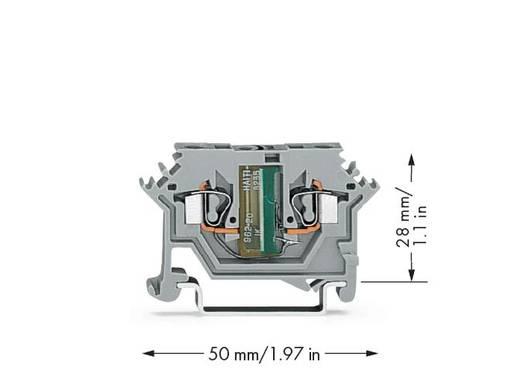 Einzelklemme 5 mm Zugfeder Belegung: L Grau WAGO 280-615/281-412 100 St.