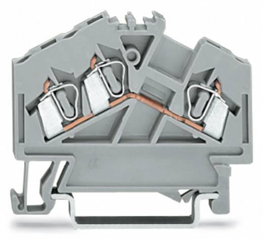 Durchgangsklemme 5 mm Zugfeder Belegung: L Grau WAGO 280-641 100 St.