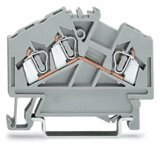 Durchgangsklemme 5 mm Zugfeder Orange WAGO 280-654 100 St.