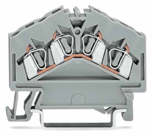 Durchgangsklemme 5 mm Zugfeder Belegung: L Grau WAGO 280-646 100 St.