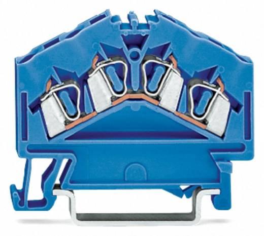 WAGO 280-656 Durchgangsklemme 5 mm Zugfeder Belegung: N Blau 100 St.