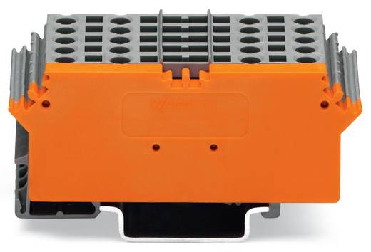 Basisklemmenblock 5 mm Zugfeder Belegung: L Grau WAGO 280-765 1 St.