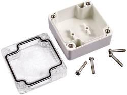Plastové pouzdro IP66 Hammond Electronics, (d x š x v) 90 x 90 x 60 mm, šedá