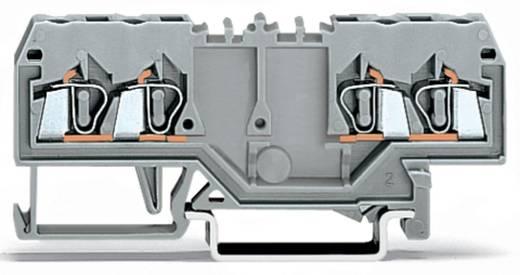 Durchgangsklemme 5 mm Zugfeder Belegung: L Grau WAGO 280-826 100 St.