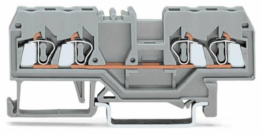 Durchgangsklemme 5 mm Zugfeder Belegung: L Grau WAGO 280-833 100 St.