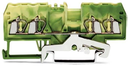 Schirmleiterklemme 5 mm Zugfeder Weiß WAGO 280-838 100 St.
