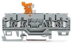 Borne sectionnable WAGO 280-874 5 mm ressort de traction Affectation des prises: L gris 50 pc(s)