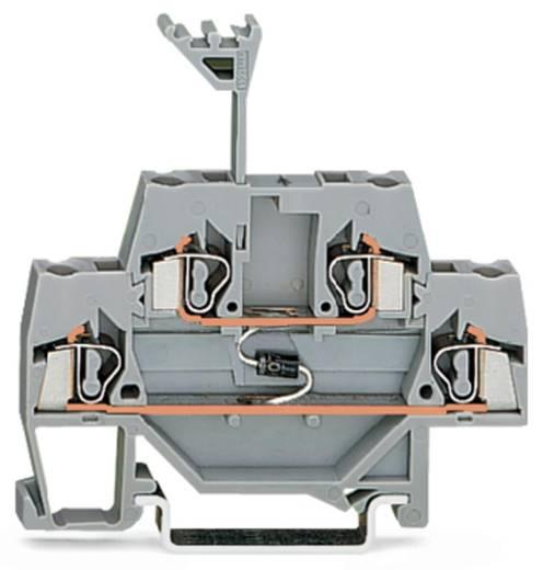 Doppelstock-Diodenklemme 5 mm Zugfeder Belegung: L Grau WAGO 280-940/281-411 50 St.