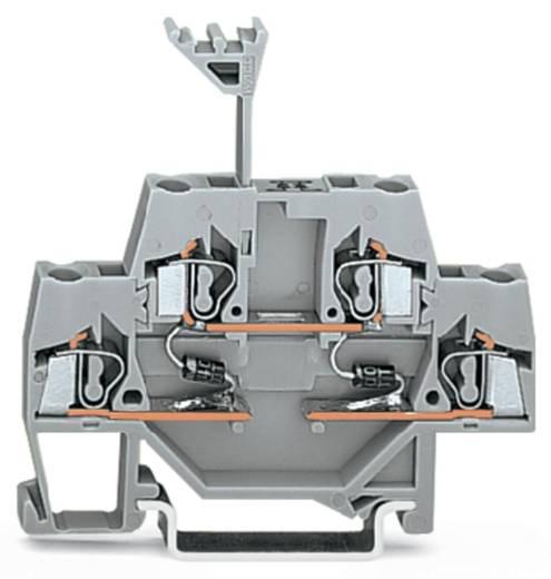 Doppelstock-Diodenklemme 5 mm Zugfeder Belegung: L Grau WAGO 280-941/281-490 50 St.