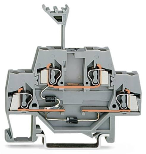 Doppelstock-Diodenklemme 5 mm Zugfeder Belegung: L Grau WAGO 280-941/281-491 50 St.