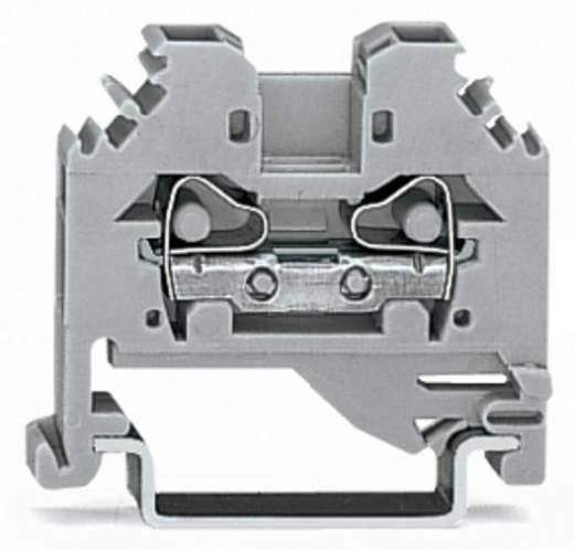 Durchgangsklemme 6 mm Zugfeder Belegung: L Grau WAGO 281-101 100 St.
