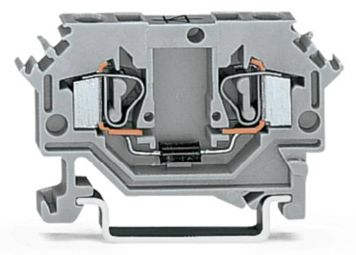 Diodenklemme 6 mm Zugfeder Belegung: L Grau WAGO 281-603/281-411 100 St.