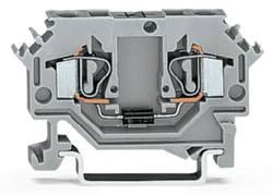 Borne à diode WAGO 281-603/281-410 6 mm ressort de traction Affectation des prises: L gris 100 pc(s)