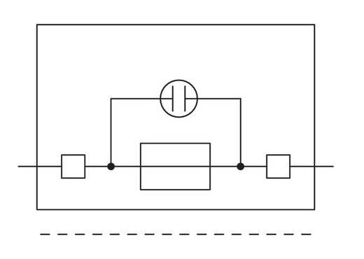 Sicherungsklemme 8 mm Zugfeder Belegung: L Grau WAGO 281-611/281-418 50 St.