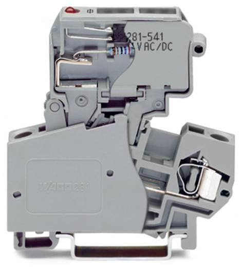Sicherungsklemme 10 mm Zugfeder Belegung: L Grau WAGO 281-613/281-541 50 St.