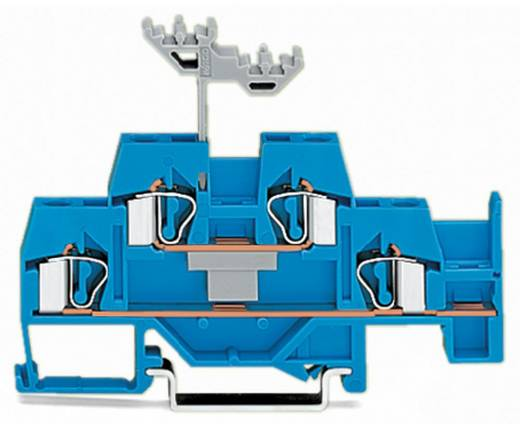 Doppelstock-Durchgangsklemme 6 mm Zugfeder Belegung: N Blau WAGO 281-630 50 St.