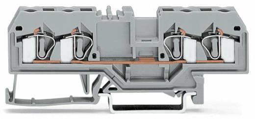 Durchgangsklemme 6 mm Zugfeder Belegung: L Grau WAGO 281-652 50 St.