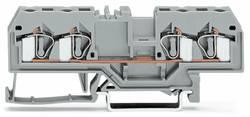 Bloc de jonction traversant WAGO 281-653 6 mm ressort de traction orange 50 pc(s)