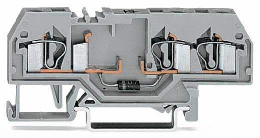 Diodenklemme 6 mm Zugfeder Belegung: L Grau WAGO 281-673/281-401 50 St.