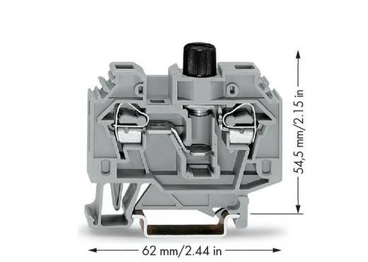 Sicherungsklemme 13 mm Zugfeder Belegung: L Grau WAGO 282-122 40 St.