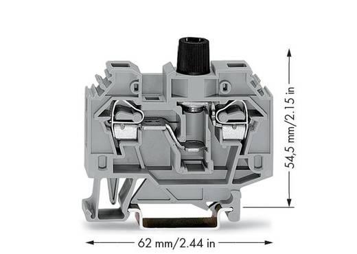 Sicherungsklemme 13 mm Zugfeder Belegung: L Grau WAGO 282-126 40 St.